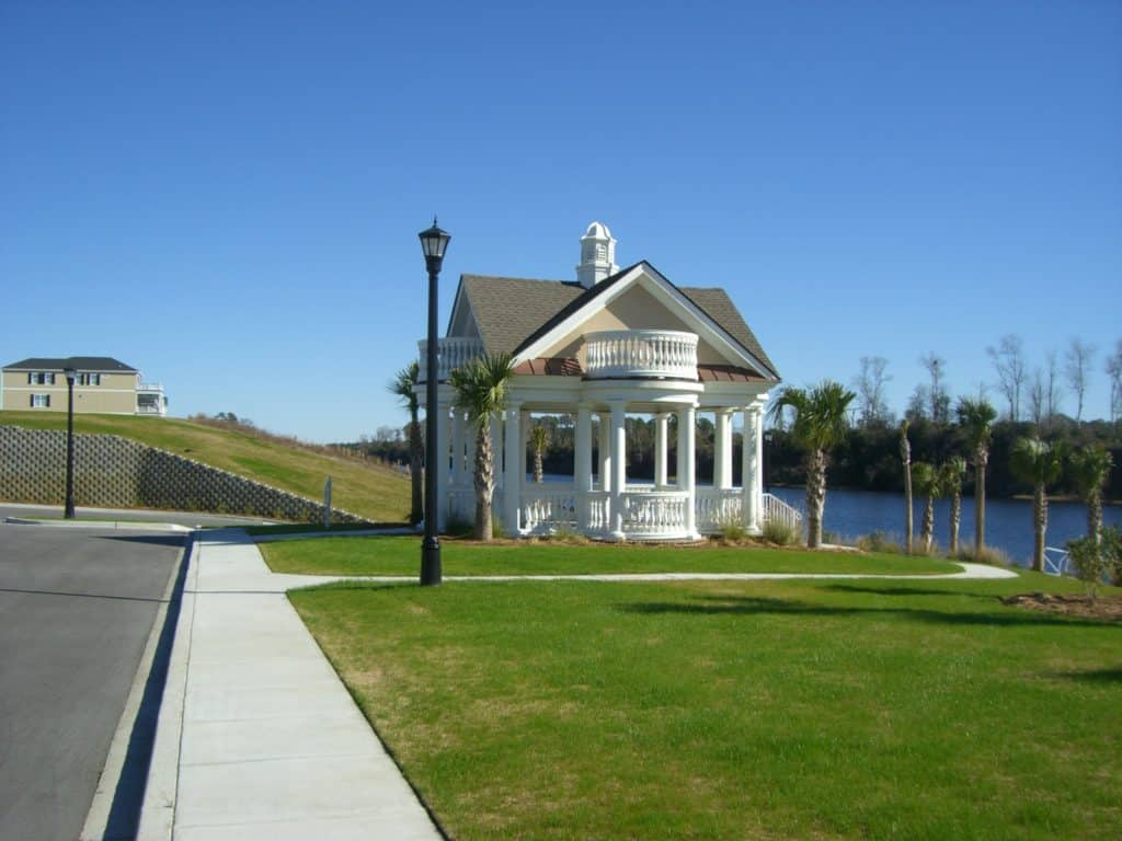 The Battery Community Waterway Gazebo