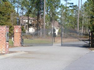 Black Creek Plantation Gated Entrance